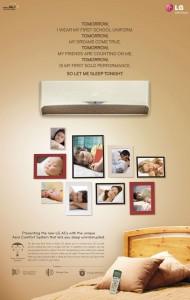 LG AC with Ceiling Fan Control
