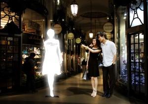 LG Shine Ambient Media