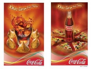 Coke print ads